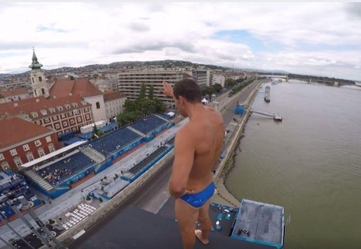 Kapaszkodjon meg, mert szédülni fog: így néz ki Budapest az ugrótorony tetejéről