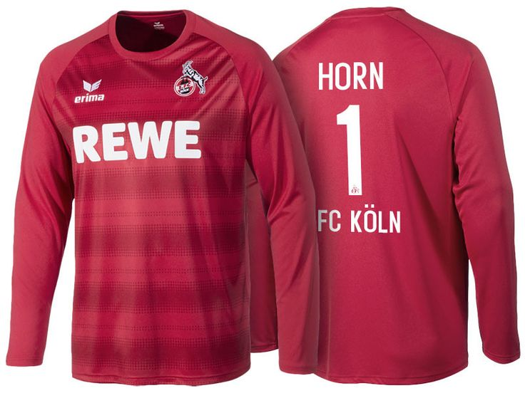 1. FC Koln #1 Timo Horn 2016-17 Road Jersey