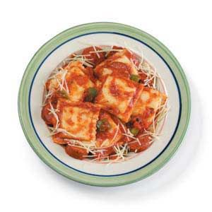 Ravioli with Sausage Recipe from Taste of Home