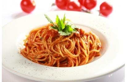 Spaghetti z chilli - przepis z portalu Przepisy.pl