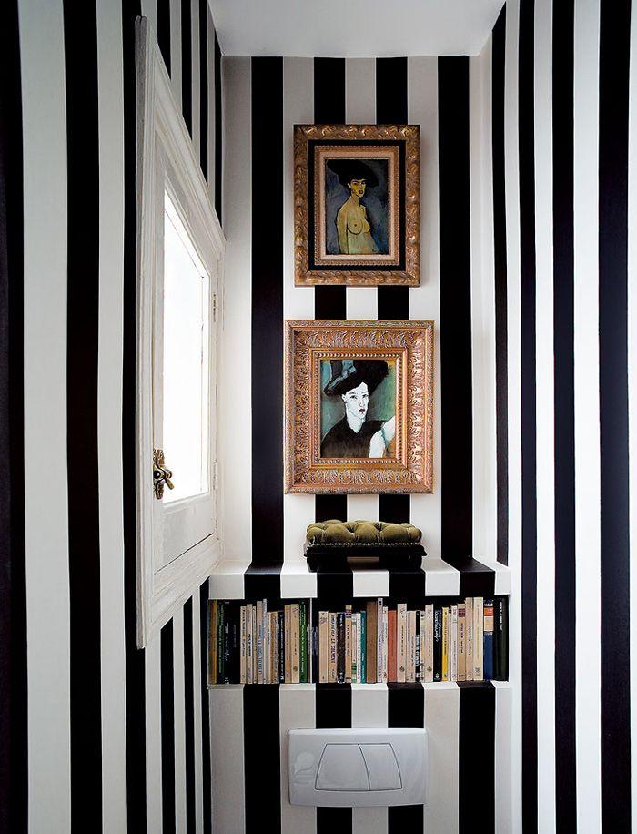 В центре внимания испанец Nacho Polo и его театральный черно-белый интерьер