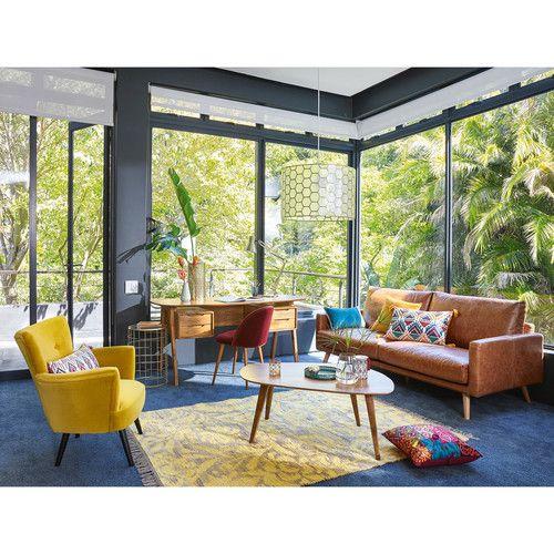 les 7 meilleures images du tableau tapis sur pinterest maison du monde moutarde et tapis en jute. Black Bedroom Furniture Sets. Home Design Ideas