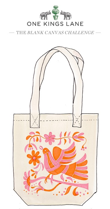 Love this tote bag design by Adriana Martinez-Gonzales? Cast your vote by re-pinning it!