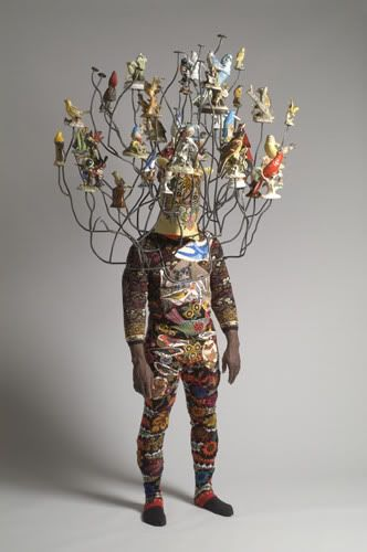 Nick Cave, currently exhibiting at the Cincinnati Museum of Art
