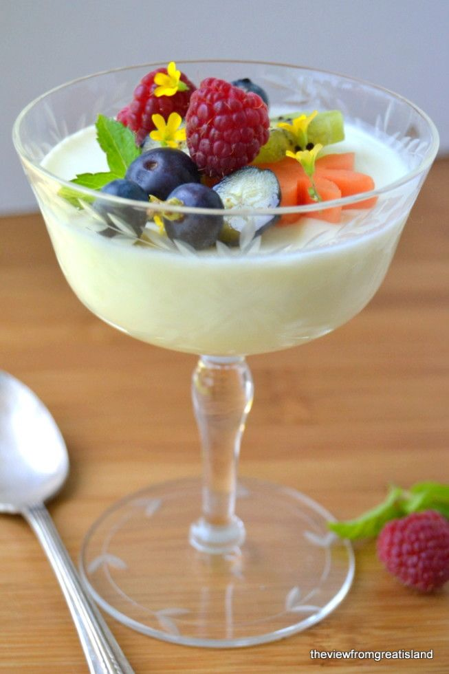 Lemon Panna Cotta | The View from Great Island