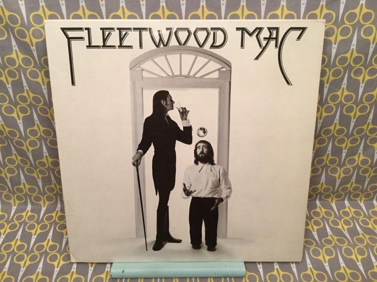 Fleetwood Mac - Self Titled LP Original 1975 Classic Rare Vinyl Record Album LP Landslide Rhiannon Monday Morning
