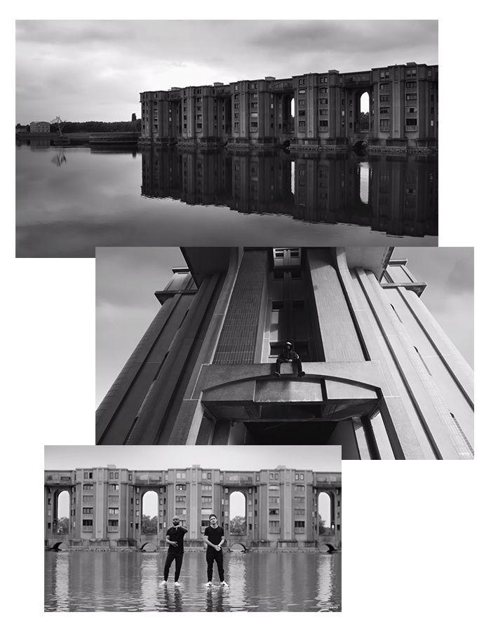 Les Arcades du Lac de Ricardo Bofill (Montigny-le-Bretonneux) d'architecture