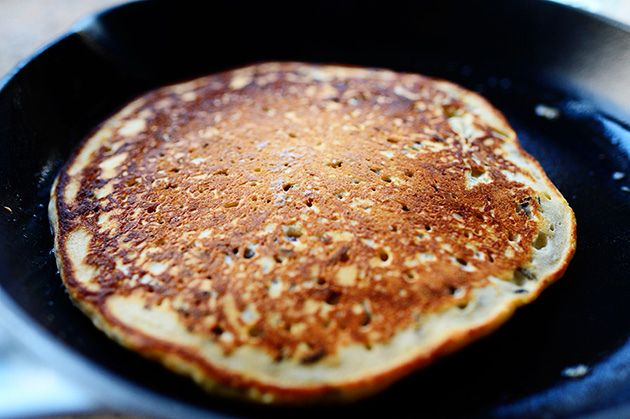 Wild Rice Pancakes Recipe — Dishmaps