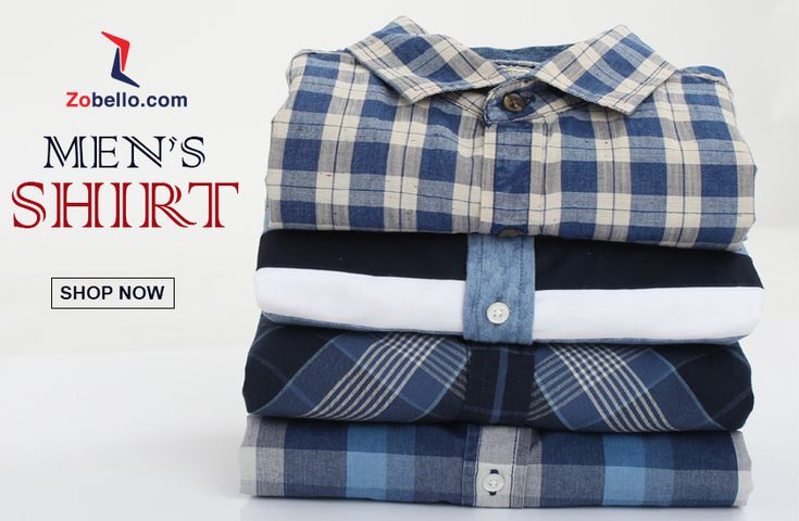 Buy new arrivals & latest Shirts for Men at Zobello. Explore the latest collection of Men's shirts. Free Shipping! Easy Returns! COD! - Find widest range of products online. Buy Formal, Casual, Regular fit Shirts for Men in all Ranges. Check Latest Men's slim fit casual shirts online at best prices in India's favorite Online Shopping Site. - Find widest range of apparels at Best prices.