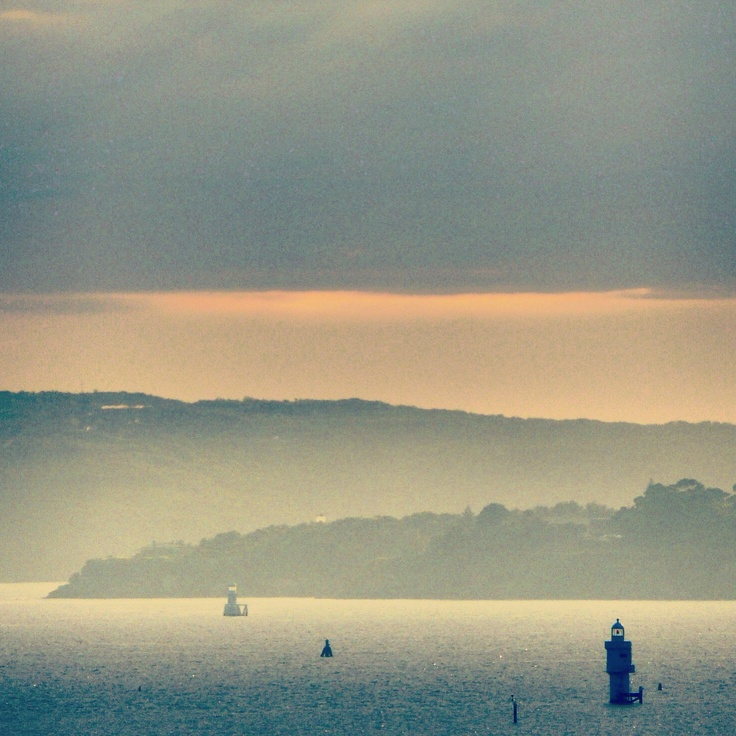 Smokey morning on Sydney harbour