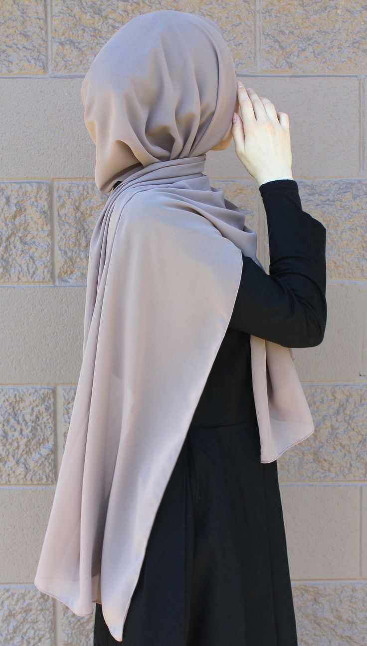 """Dubai"" Chiffon Hijab Check out our collection http://www.lissomecollection.co.uk/New-arrivals"