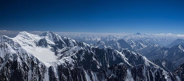 Noshaq (or Nowshak) is the second highest independent peak of the Hindu Kush Range after Tirich Mir Peak and lies on the border between Badakhshan Province in Afghanistan and Pakistan. The north and west sides of the mountain are in Afghanistan whereas the south and eastern sides are in Pakistan. Noshaq is Afghanistan's highest mountain and is located in the northeastern corner of the country along the Durand line which marks the border with Pakistan.