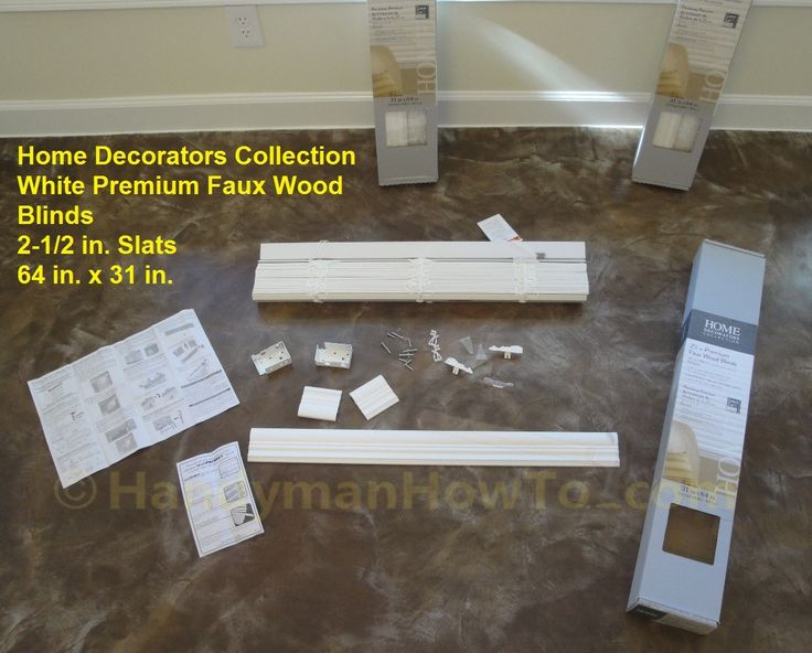 The Best 5 Pics Home Decorators Collection Faux Wood Blinds Installation Instructions And Pic Faux Wood Window Blinds Faux Wood Blinds Faux Wood