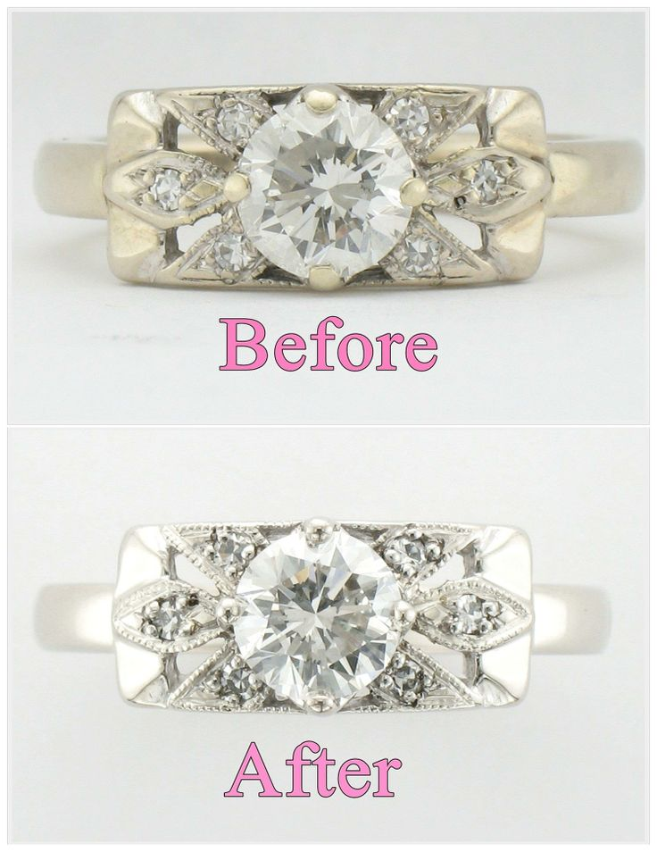 Beautiful Did you inherit an old family heirloom to use as an engagement ring We can make that well loved ring look as good as good as new