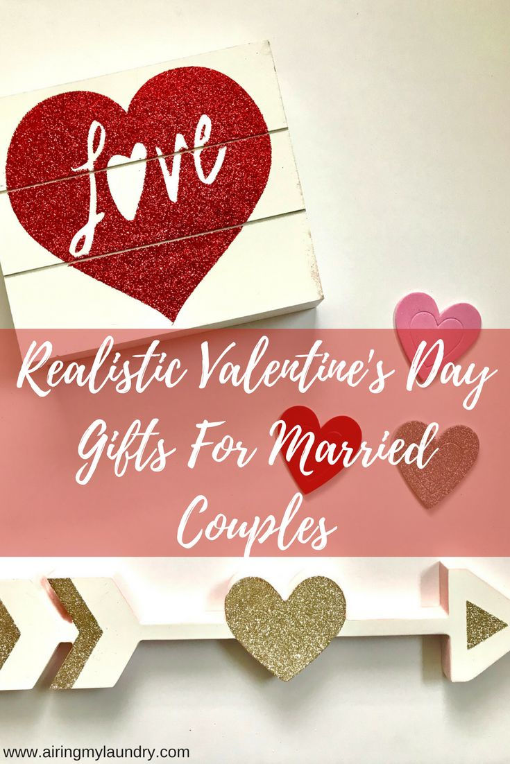 Looking for realistic Valentine's Day gifts for your spouse when you've been married 10+ years? I have ideas!  #ValentinesDay #giftguide #marriage
