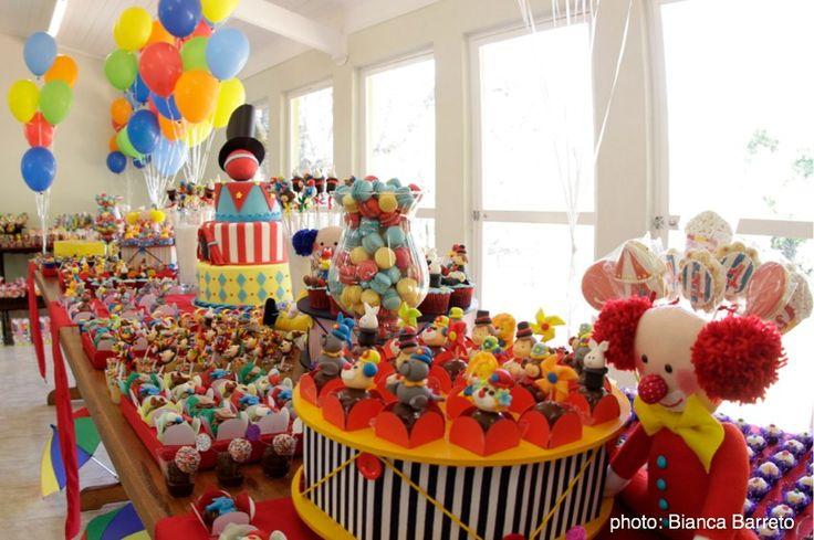 Ideas para fiesta de primer a ito a collection of diy and crafts ideas to try ballerina - Circus theme party decoration ideas ...