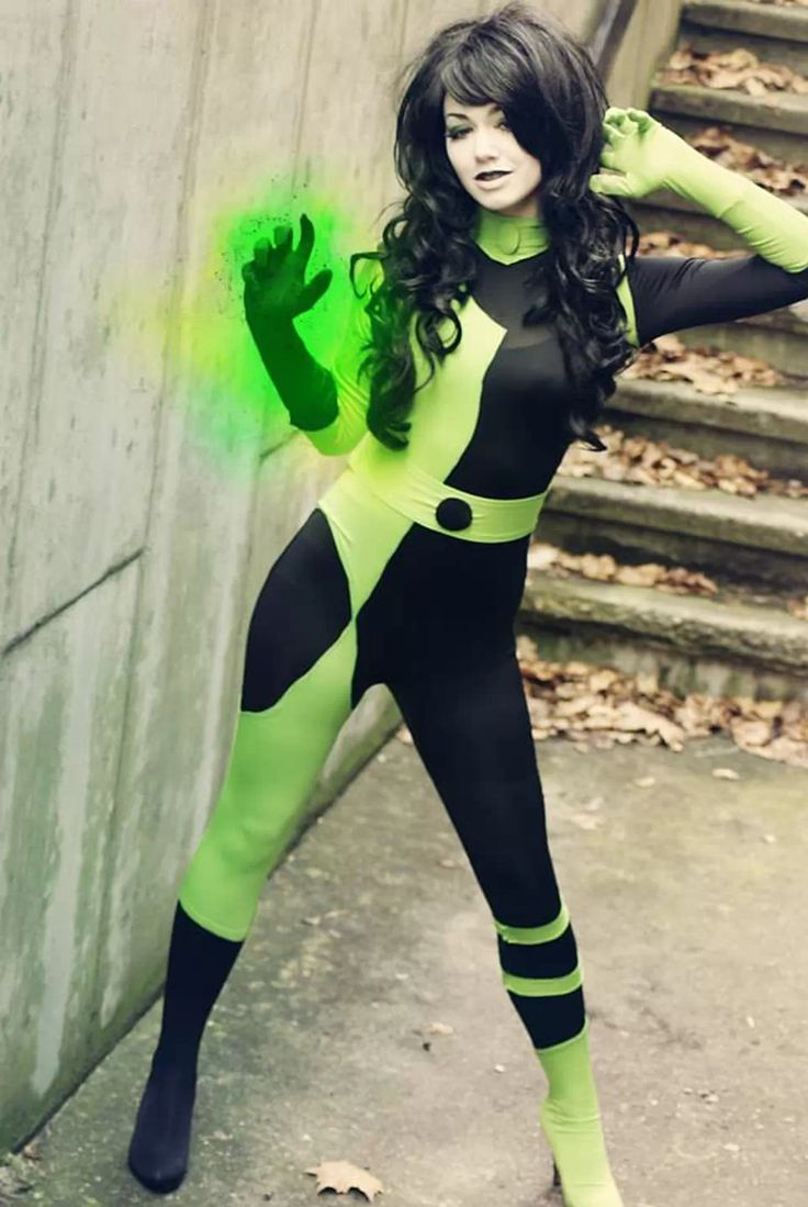 Throwback Cosplay - Shego from Kim Possible!