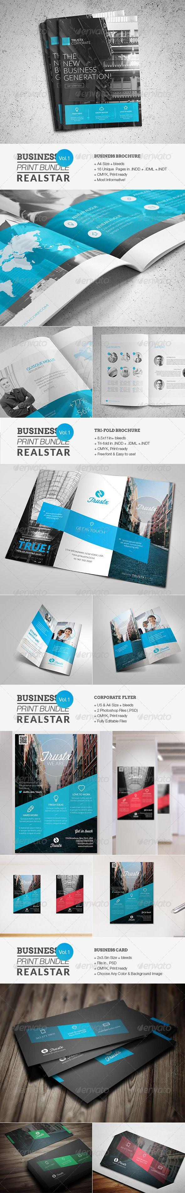 Business Print Bundle - Corporate Brochures
