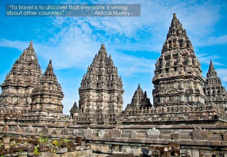#TravelQuote To travel is to discover that everyone is wrong about other countries - Aldous Huxley- #getourguide.com. Make your own itinerary at getourguide.com