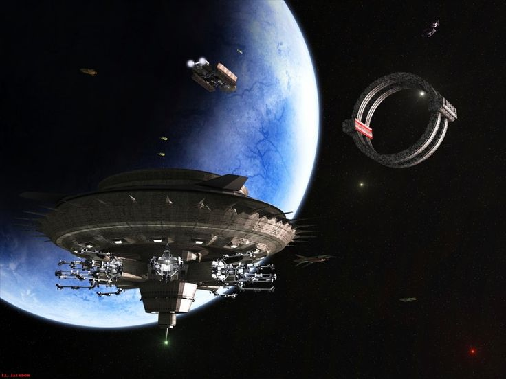 213 best images about space station concept art on for Space matte painting