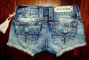 Love these rock revival shorts!