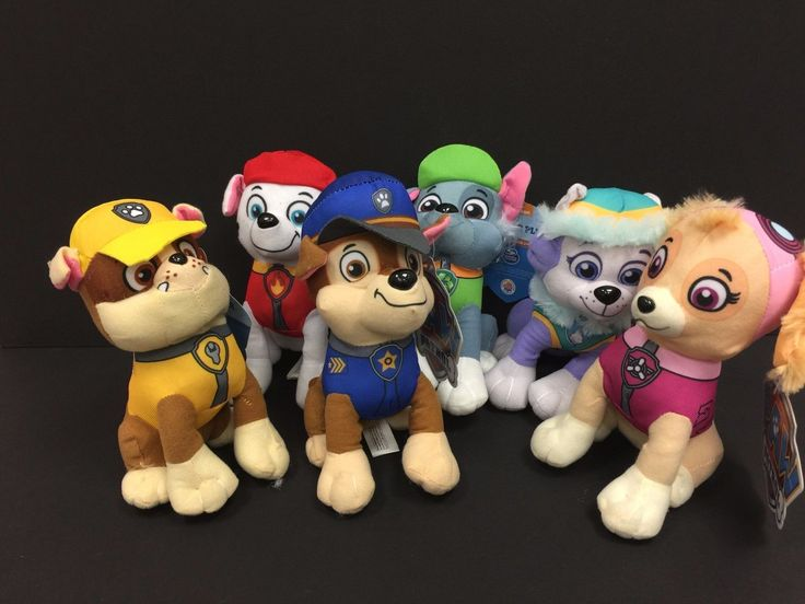 Paw Patrol Plush Stuffed Animal Toy Set  8