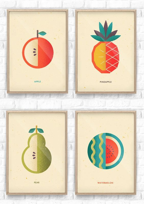 Fruit Salad Collection / Telegramme Paper:
