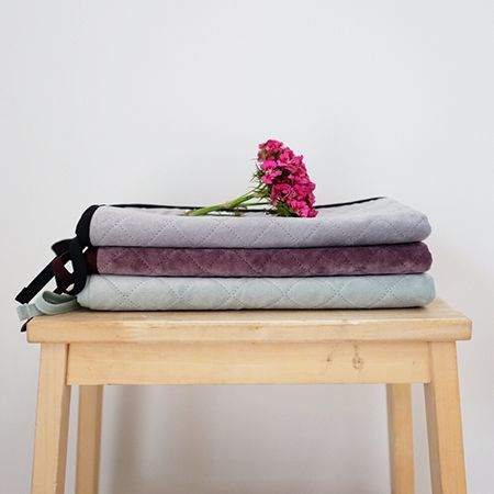 Stylish AND practical portable change mats for your baby. Warm touch, thick plush upper, water resistant backing, a simple and stylish design that is the perfect handbag size with no unnecessary pockets (who has time for refilling them anyway?). Featuring a simple tie to roll the mat up and pop back into your bag. Durable, easy to clean and can withstand the toughest of stains. Made with love in New Zealand.