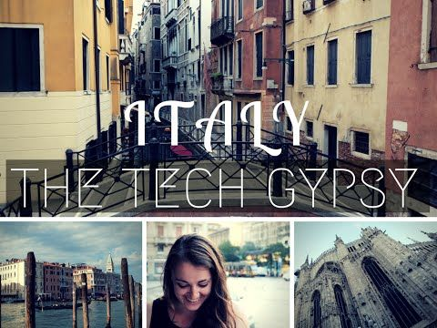 Italy Vlog now Live | | THE TECH GYPSY | http://www.thetechgypsy.com/italy-vlog-now-live/ #milan #venice #italy #europe #vlog #travel #wanderlust #adventure #explore