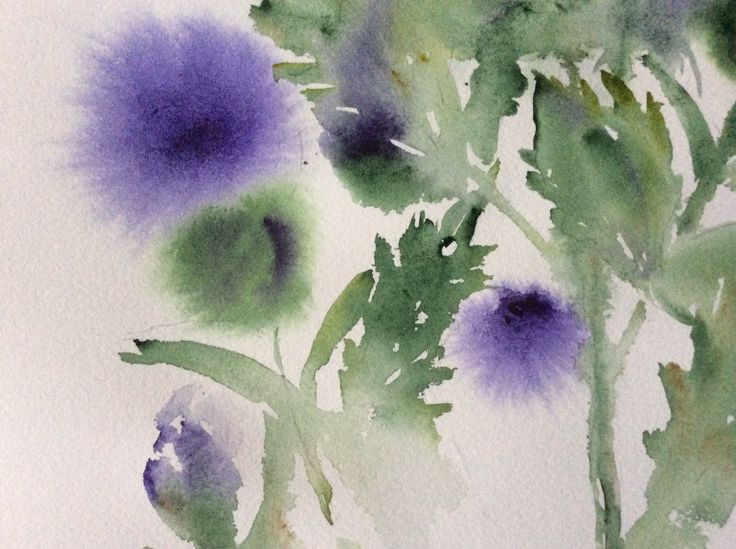 Melinda Kása watercolor on Arches paper White Nights pigments