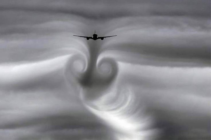 More and more high-altitude vapour trails appear in our skies as the flight density of commercial aviation increases. These trails often follow the plane straight and narrow, then degrade into fuzzy and fanciful formations, blending with clouds and leaving a subtle afterimage in our subconscious.