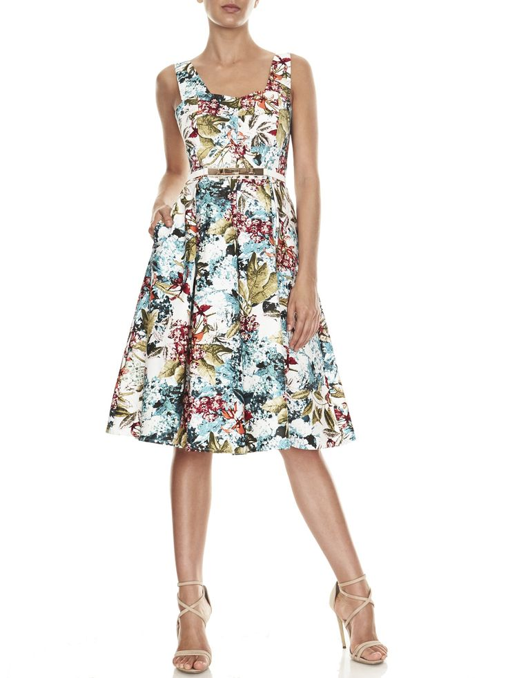 Ava Printed Sateen Dress | Evening Dresses, Formal Dresses, Cocktail Dresses, Bridemaid dresses and Mother of the Bride @W I L L Hope Love