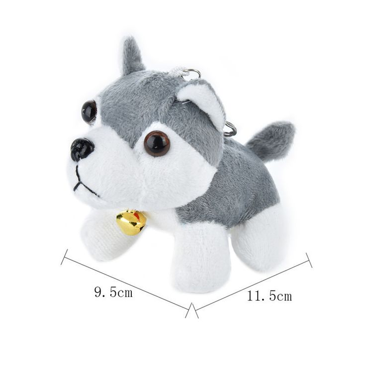11 5X9 5cm Puppy Toys Husky Plush Toys Spotty Dog Stuffed Animal Plush Toy for Children. Click visit to buy