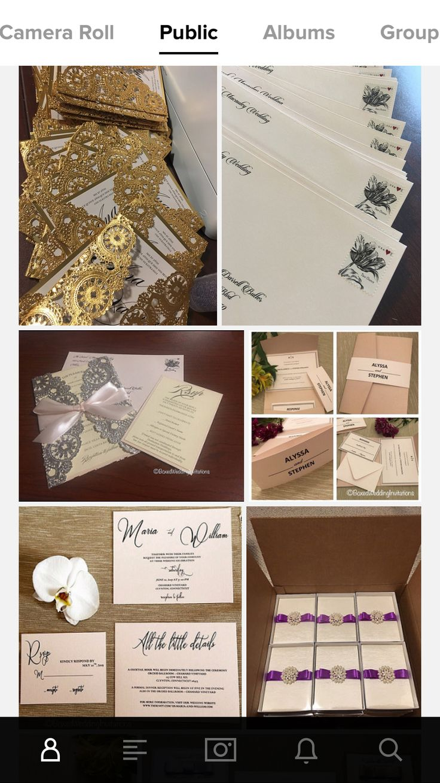 cinderellthemed wedding scroll invitations%0A Custom wedding invitations See more at www boxedweddinginvitations com   invitations