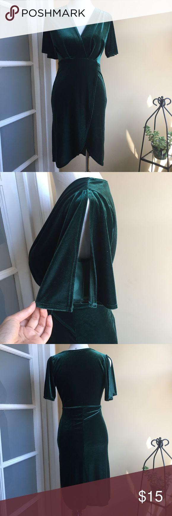 best 25  green velvet dress ideas that you will like on