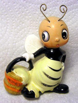 Vintage Josef Originals Anthropomorphic Honey Bee
