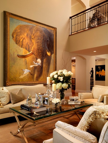 As seen in florida architecture traditional living for Traditional eclectic living rooms