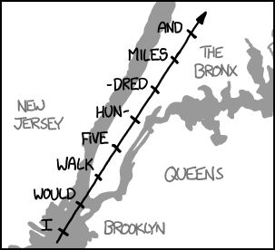 What If?: Orbital Speed - You'd be moving at about 15 subway stops per second.
