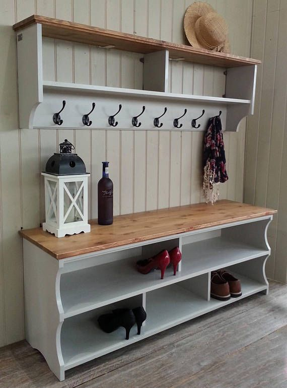 Hallway Set Discount Offer Please Read Details For A Discount Etsy Diy Storage Bench Coat And Shoe Storage Home