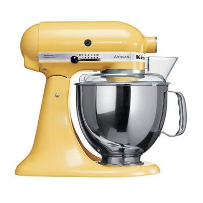 Yellow KitchenAid® Artisan® Stand Mixer in mixers at Lakeland