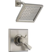 Dryden 2.5 GPM Single Function Shower Head and Trim Package with Touch Clean Technology