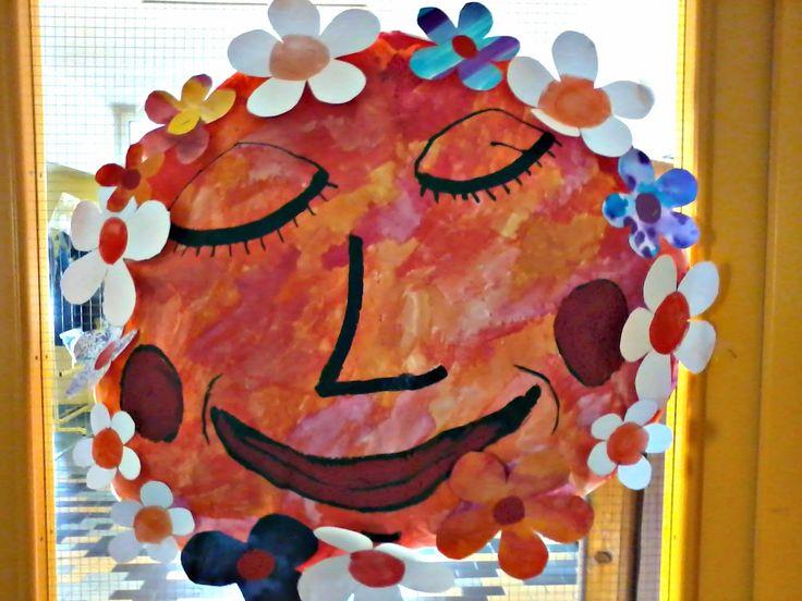 Tvoříme s dětmi  ☺: Jarní obří sluníčka
