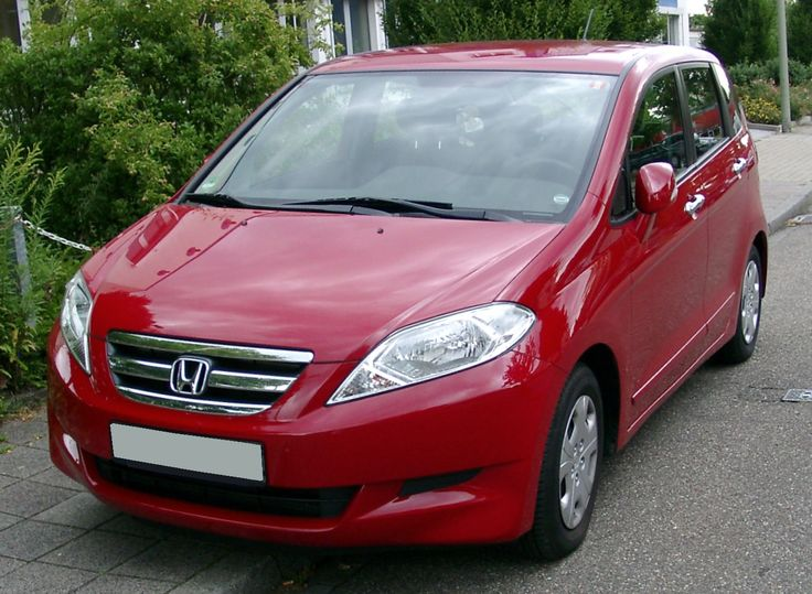 Honda FR V mpv Modified  http://www.carsymbols.net/honda-fr-v-mpv-modified/ Car Symbols