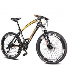 Rockefeller 26 inches 21 Speed Spoke Wheel Mountain Bike with 50mm Rim