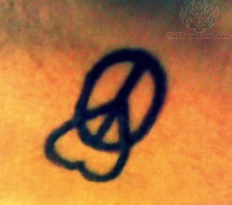 43 best stars hearts peace sign tattoo images on pinterest peace sign tattoos design tattoos. Black Bedroom Furniture Sets. Home Design Ideas