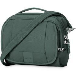 Pacsafe Metrosafe LS140 RFID Blocking Anti-Theft Compact Shoulder Bag Pine Green 30410