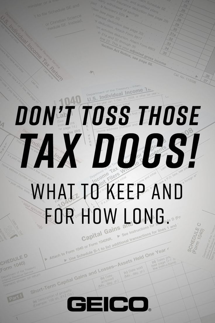 After Filing Your Taxes These Are The Documents You Ll Need To