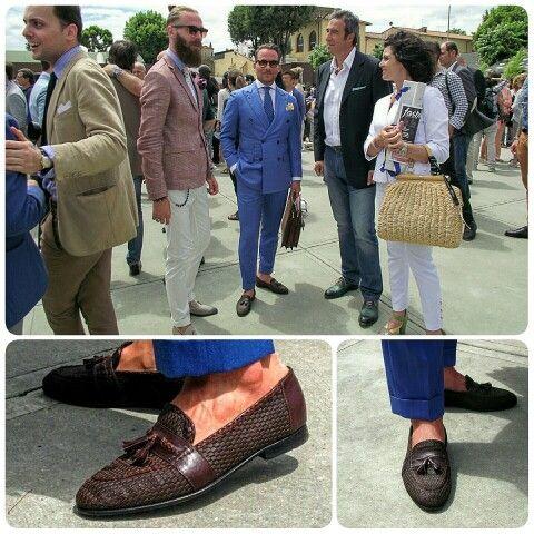 Pitti Uomo, my loafers - Massimo Pirrone