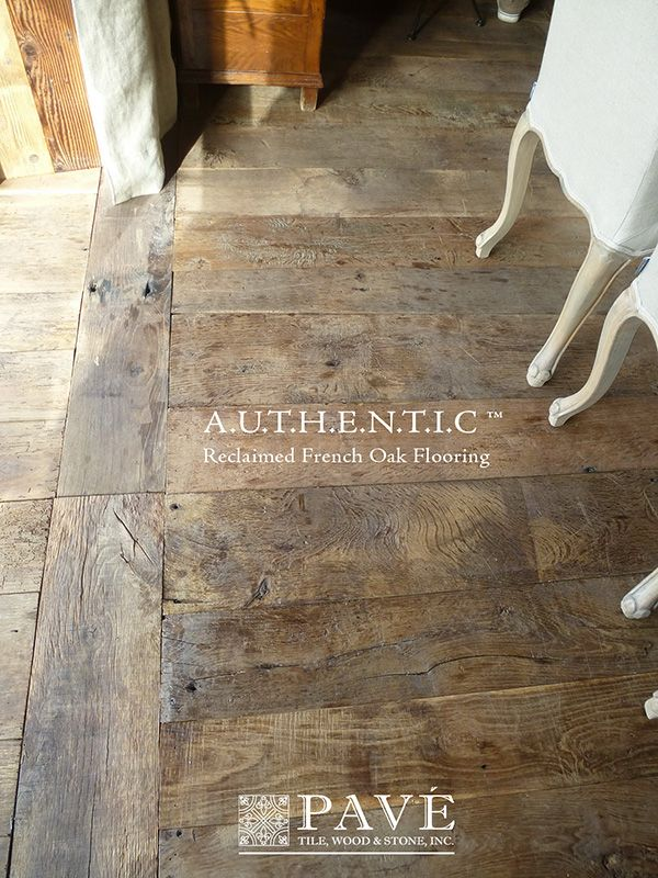 This is my dream floor....LOVE IT!!! love the layout..the finish and the different size planks..so awesome! -A.U.T.H.E.N.T.I.C French Reclaimed Oak Flooring