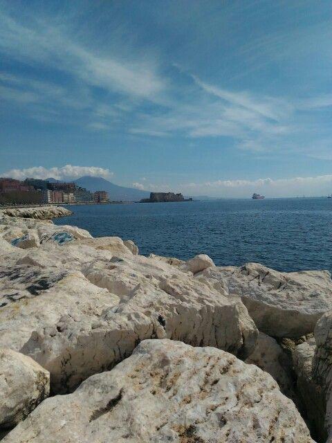 Naples on the rocks